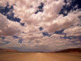 Clouds Over the Namib Desert, Namibia Photographic Print by Walter Bibikow