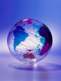 Clear Plastic Globe Photographic Print by Dennis Lane