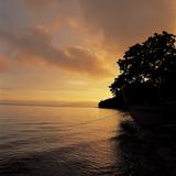 Sunset over a Sea Reprodukcja zdjęcia