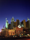 Nv, Las Vegas, New York New York Casino Photographic Print by David Ball