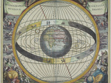 Ancient Astrological Map Photographic Print