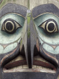 Totem Pole in Pioneer Square, Seattle, Washington, USA Photographic Print by John &amp; Lisa Merrill