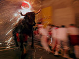 "The ""Toro De Fuego"" or Flaming Bull Photographic Print"