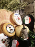 Display of Cheese Fotografisk tryk af Dan Gair