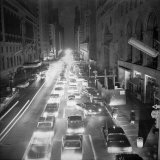 New York's 42nd Street Photographic Print
