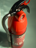 Vintage Fire Extinguisher Photographic Print