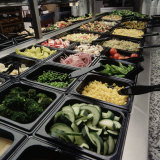 Salad Bar Photographic Print by Matthew Borkoski