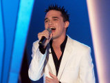 The Mirror Pride of Britain Awards, Gareth Gates Singing, March 2002 Photographic Print