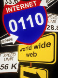 Information Superhighway Photographic Print by Carol & Mike Werner