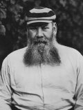 Portrait of W G Grace Photographic Print by F.t. Beeson