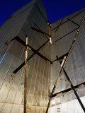 Zinc-Clad Walls of Jewish Museum in Kreutzberg, Berlin, Germany Photographic Print by Krzysztof Dydynski