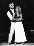 Kylie Minogue with Jason Donovan Photographic Print