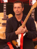 Eric Clapton Guitar Legend at the Launch of the Auction of His Guitars, June 1999 Photographic Print