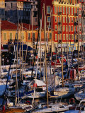 Boats in the Harbour at Bassin Lympia, Nice, France Photographic Print by Richard I'Anson