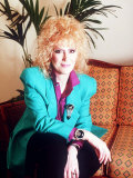 Singer Dusty Springfield, March 1989 Photographie