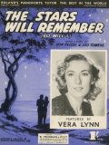 Vera Lynn Popular English Singer: The Stars Will Remember Photographic Print