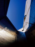 Zinc-Clad Walls of Jewish Museum in Kreutzberg, Berlin, Germany Photographic Print by Krzysztof Dydynski
