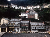 Coastal Town of Clovelly on Coast of North Devon West of Bideford Photographic Print