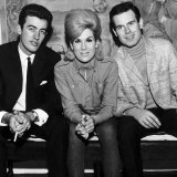 Dusty Springfield with Tom Springfield Right of the the Springfield Group, September 1963 Photographie