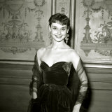 Audrey Hepburn, January 1951 Photographic Print