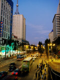 Evening in Downtown, Kunming, China Photographic Print by Greg Elms