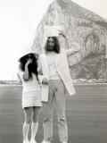 John Lennon Marries Yoko Ono, March 1969 Photographie