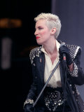Annie Lennox of Eurythmics at Mandela Concert in Honour of Nelson Mandela's 70th Birthday, Jun 1988 Fotografická reprodukce