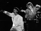 Andrew Ridgeley and George Michael of Wham, 1985 Photographie