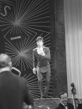 Cliff Richard UK Entrant Performing at Eurovision Song Contest, April 1968 Photographic Print