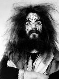 Roy Wood of 1970s Pop Group Wizzard Fotografie-Druck