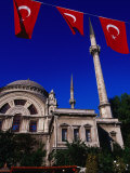 Mosque Near Dolmabhce Palace, Istanbul, Turkey Photographic Print by Phil Weymouth