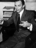 Frank Sinatra, December 1951 Fotografisk tryk