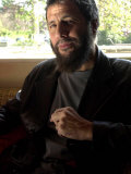 Former Pop Singer Cat Stevens, Now Known as Yasef Islam, in London Promoting Hope Album, May 2003 Fotografiskt tryck