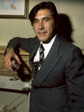 Brian Ferry Roxy Music Holding Glass of Wine, December 1975 Photographic Print
