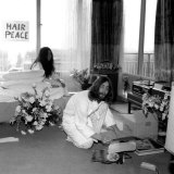 Photo of Yoko Ono and John Lennon Entitled Bed-In for Peace, Hilton Hotel, Amsterdam, March 1969 Photographic Print