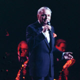 Frank Sinatra on Stage in Concert, July 1990 Fotografisk tryk