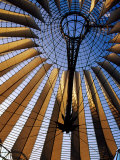 Interior of Sony Center, Berlin, Germany Photographic Print by Krzysztof Dydynski