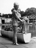 Dusty Springfield in Her Natty Trouser Suit Photographie