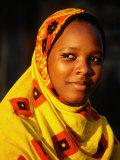 Portrait of Young Girl, Bagamoyo, Tanzania Photographic Print by Ariadne Van Zandbergen