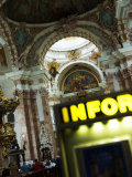 Interior of Dom St. Jakob, Innsbruck, Austria Photographic Print by Glenn Beanland