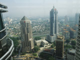 A View from the Petronas Towers Across the City of Kuala Lumpur Photographic Print