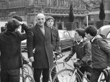 Savalas Telly, Surronded by Young Fans, During a Walk in London with Wife Kojak, February 1968 Photographic Print