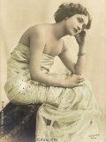 Lina Cavalieri Italian Singer Photographic Print