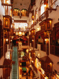 Ghani Palace Hotel Shopping Complex Interior, Kuwait Photographic Print by Mark Daffey