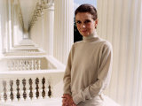 Audrey Hepburn at the Unicef Photocall in London Stampa fotografica
