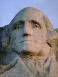George Washington's Face on Mount Rushmore National Monument Photographic Print by Joel Sartore