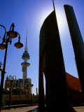 Safat Square Monument and Communications Tower, Kuwait Photographic Print by Mark Daffey