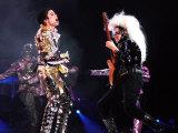 US Pop Megastar Michael Jackson Sings in the Czech Capital Prague Fotodruck