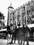 The Beach Boys Pop Group Visit Tower of London Photographic Print