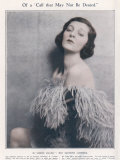 Gertrude Lawrence Actress Photographic Print by Hugh Cecil